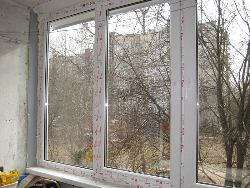 Видео монтаж пвх на балкон..